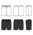 Woven Boxers vector image vector image