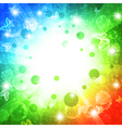 holiday bright multicolored background vector image