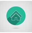 House abstract real estate countryside logo design vector image vector image