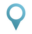 map pin icon direction gps element search vector image