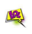 pop art comic book text speech bubble vector image vector image