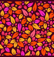 seamless colorful flower background vector image