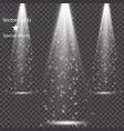 spotlights scene light effects vector image vector image