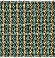striped plants ornament vector image vector image