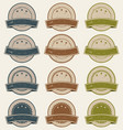 vintage retail badges awards and banners vector image vector image