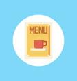 menu icon sign symbol vector image