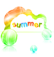 Summer vector image vector image