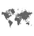 world map earth planet design geography vector image