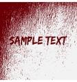 Red Bloow Splatter Texture vector image