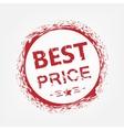 Best price stamp vector image