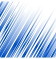 abstract blue lines vector image vector image