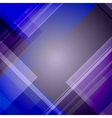 Abstract blue technical background vector image