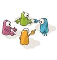 Cartoon creatures