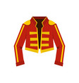 costume of toreador icon flat style vector image