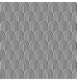 Fish scale silver seamless pattern vector image