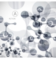 Geometric background molecule and communication
