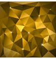 Gold Triangles vector image vector image