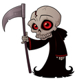 little grim reaper vector image