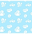 retro seamless clouds backgroung vector image