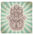 set ornamental indian symbols vector image vector image