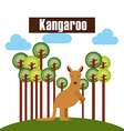 zoo animals design vector image
