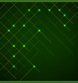 abstract background lines with glow points vector image vector image