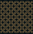 abstract seamless ornament lines pattern vector image vector image