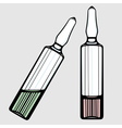 Ampoules vector image vector image