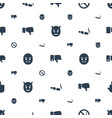 bad icons pattern seamless white background vector image vector image