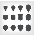 emblem heraldic shields vector image vector image