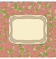 Glamorous doodle frames vector image vector image