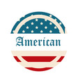 happy independence day american flag lettering vector image vector image