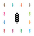isolated sheaf icon barley element can be vector image vector image