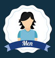 men design vector image