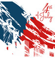 new york 4th of july design vector image vector image