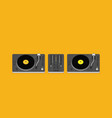 party and sound musical entertainment flat vector image