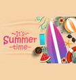 summer background design 2019 vector image vector image