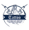 tattoo art design horse line art style vector image vector image