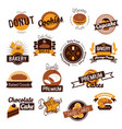 Bakery hand drawn logos