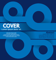 Cover or Flyer Design vector image vector image