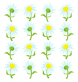 flower cartoon vector image vector image