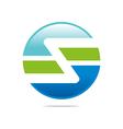 Logo circleletter Z good style lettering vector image vector image