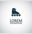 Roller skate icon trendy simple symbol concept