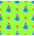 Seamless pattern with rooster and chinese zodiac vector image vector image