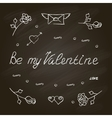 ymbol set for Valentines Day vector image vector image