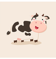 Cute Cow Camouflage with Background vector image