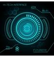 Hud Futuristic Background vector image