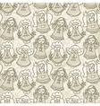 angels background vector image vector image