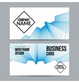 Banners template technology brochure layout vector image