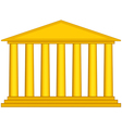 Colonnade vector image vector image